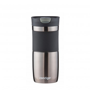 Contigo Byron Travel Mug 470ml Gun Metal