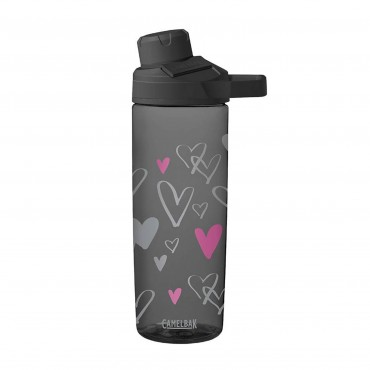 CamelBak Bottle Chute Mag 600ml (Sketched Hearts)