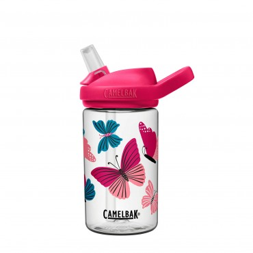 Camelbak Eddy® + Kids Water Bottle 400ml (Colorblock Butterflies)