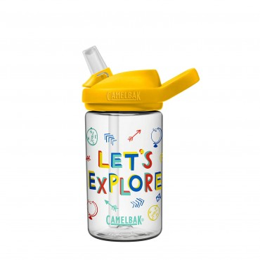 Camelbak Eddy® + Kids Water Bottle 400ml (Let's Explore)