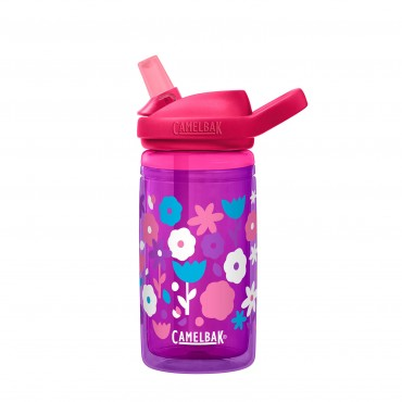 Camelbak Eddy®+ Kids Water Bottle 400ml insulated (Flower Power)