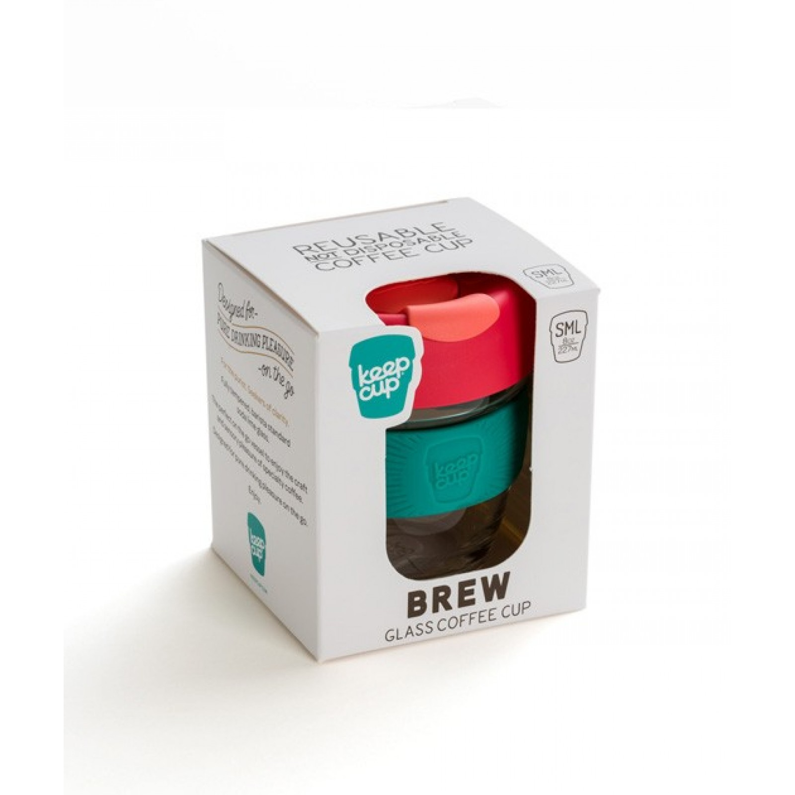 KeepCup Sea Shepherd Brew 12oZ/340ml Black
