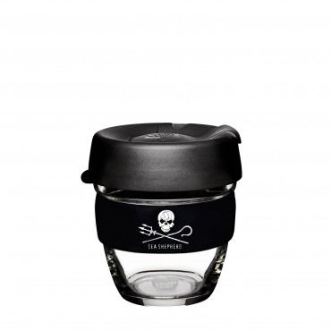 KeepCup Sea Shepherd Brew 8oZ/227ml Black