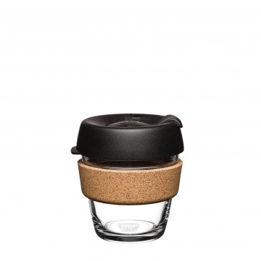 KeepCup Black Cork 6oZ/177ml